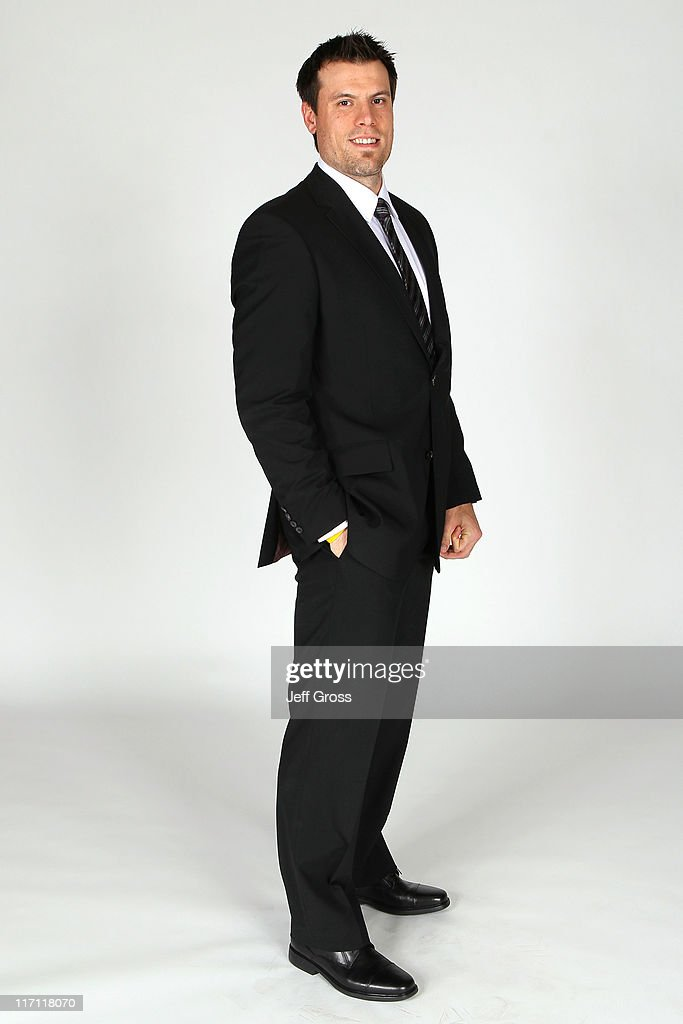 Shea Weber of the Nashville Predators poses for a portrait during the 2011 NHL Awards at the Palms Casino Resort June 22, 2011 in Las Vegas, Nevada.