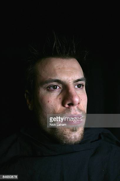 Shea Weber poses for a portrait during the 2009 NHL Live Western/Eastern Conference AllStars Media Availability at the Queen Elizabeth Fairmont Hotel...