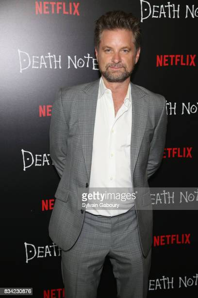 Shea Whigham attends Death Note New York Premiere at AMC Loews Lincoln Square 13 theater on August 17 2017 in New York City