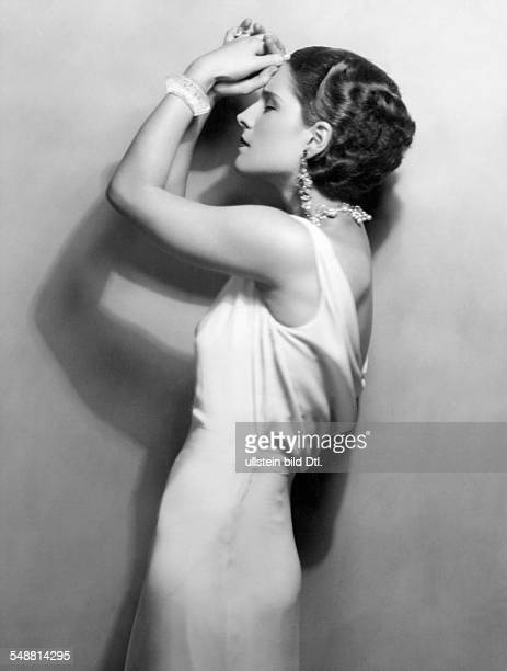 Shearer Norma Actress USA * portrait 1931 Photographer Ruth Harriet Vintage property of ullstein bild