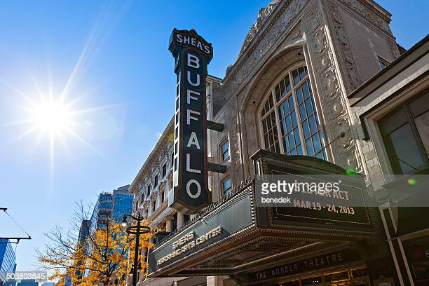 shea's performing arts center buffalo - buffalo new york state stock pictures, royalty-free photos & images