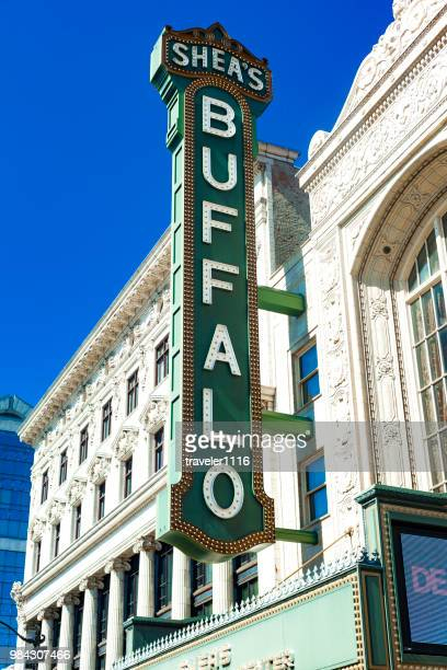 shea's performing arts center in buffalo, new york - performing arts center stock photos and pictures