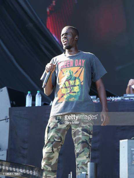 Sheck Wes performs in concert during the second annual Astroworld Festival at NRG Park on November 9 2019 in Houston Texas