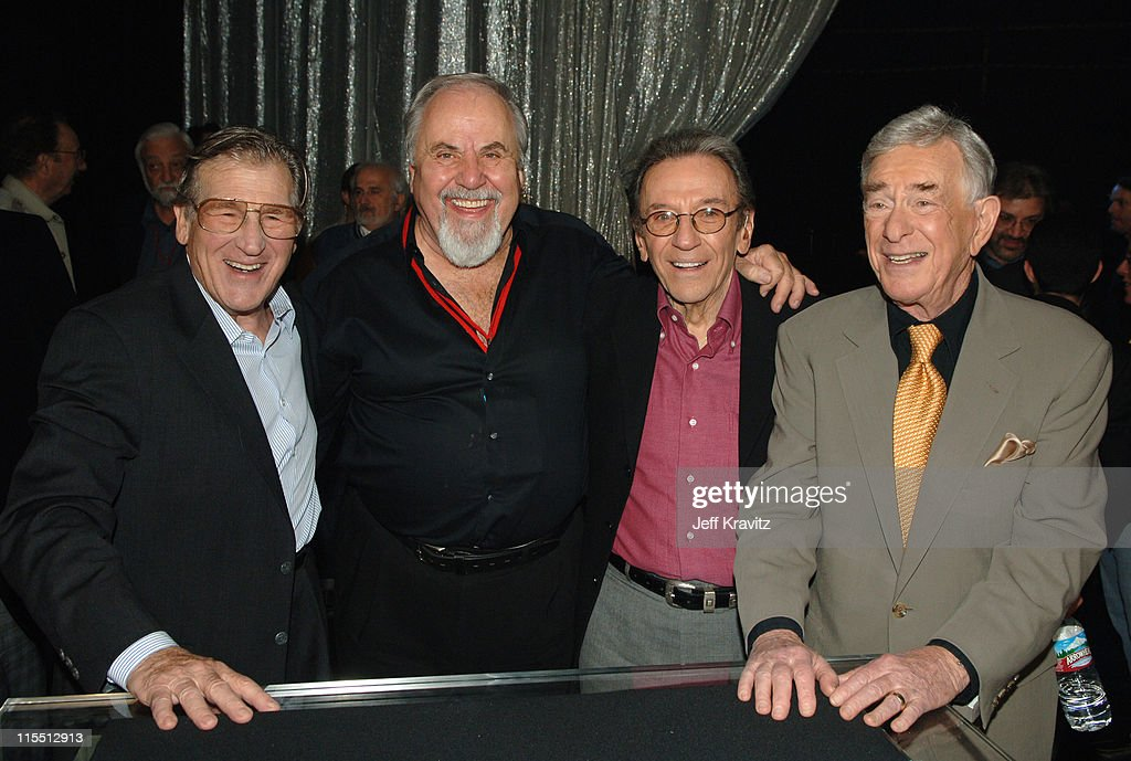 Shecky Greene, George Schlatter, Norm Crosby and Shelly Berman *Exclusive Coverage*