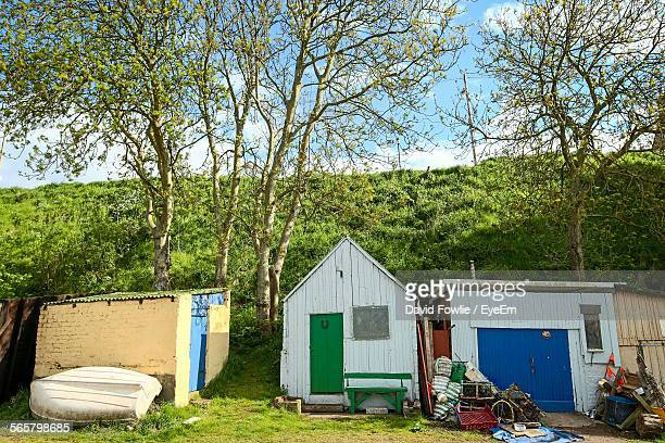 Shed, Cottage And Garage In Rural Area