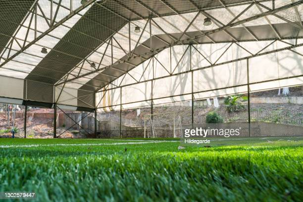 shed football field - football bulge stock pictures, royalty-free photos & images
