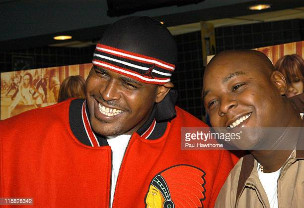 Sheek and Jadakiss during 'Honey' New York Premiere Inside Arrivals at Chelsea West Theater in New York City New York United States