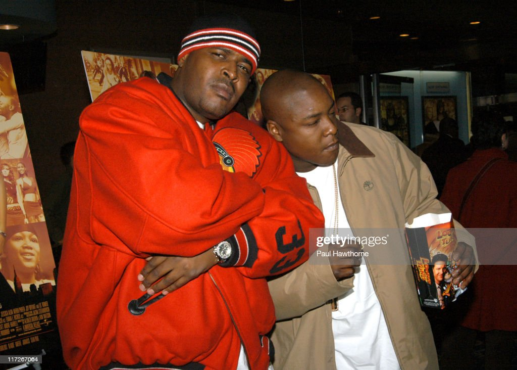 Sheek and Jadakiss during Honey - New York Premiere - Inside Arrivals at Chelsea West Theater in New York City, New York, United States.