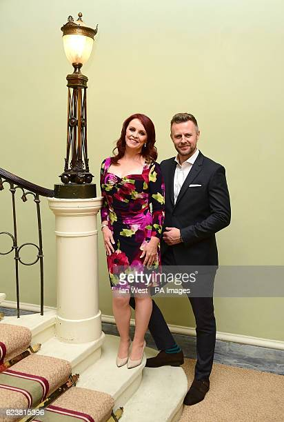 Sheena Easton, Tom Lister at the launch of the musical 42nd Street in which Easton will be making her West End debut at the Theatre Royal in London.