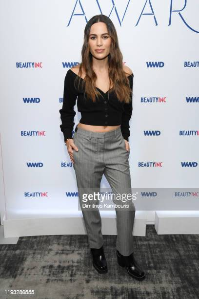 Sheena Yaitanes attends the 2019 WWD Beauty Inc Awards at The Rainbow Room on December 11 2019 in New York City
