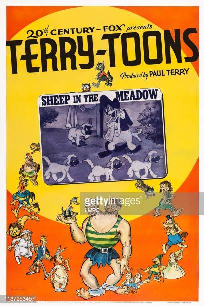 Sheep In The Meadow poster US poster art 1939