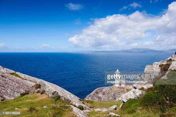 sheep's head, lighthouse, county cork, ireland - county cork stock pictures, royalty-free photos & images