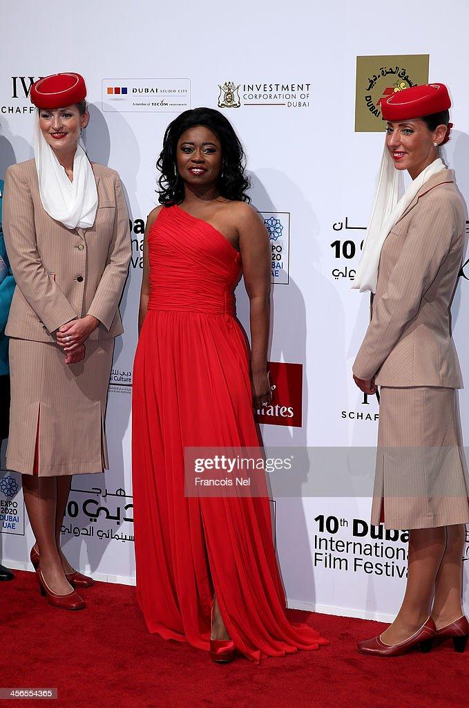 Beauty And Fashion Executive Taylor Re'Lynn Attends Dubai International Film Festival : Fotografía de noticias