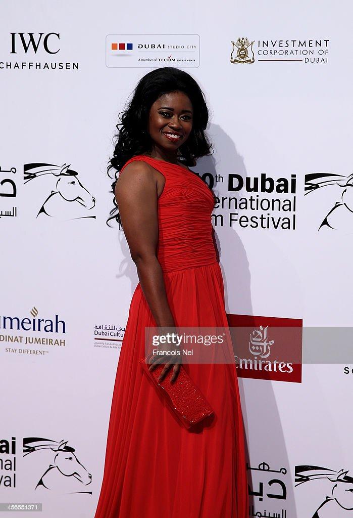 Beauty And Fashion Executive Taylor Re'Lynn Attends Dubai International Film Festival : News Photo