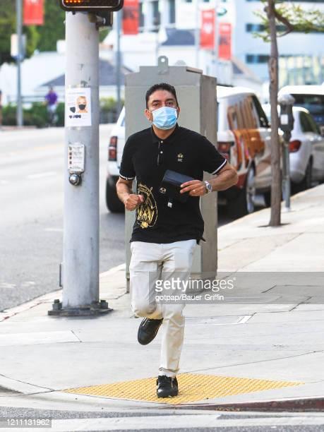 Sheeraz Hasan is seen on April 27 2020 in Los Angeles California