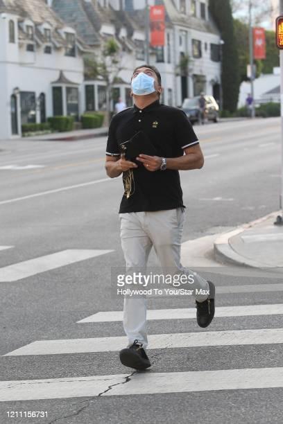 Sheeraz Hasan is seen on April 27 2020 in Los Angeles