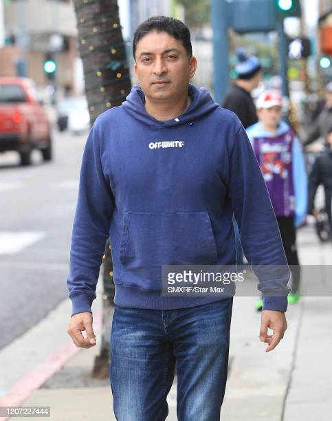 Sheeraz Hasan is seen on March 14 2020 in Los Angeles California