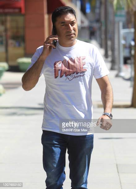 Sheeraz Hasan is seen on March 18 2020 in Los Angeles California