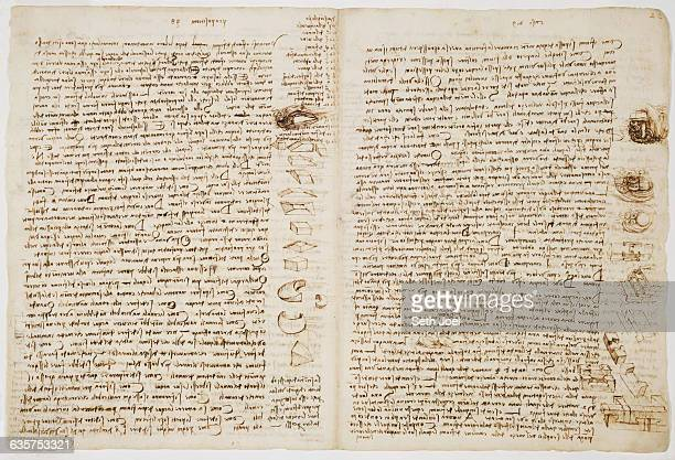 Sheet 15B River control is the main focus of folio15v as Leonardo discusses where to place obstacles to direct the flow to the middle He also...