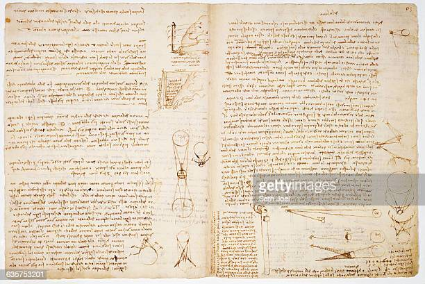 Sheet 7B On folio 7v Leonardo argues against traditional theory that the surface of the moon is polished like a mirror and on flio 30r he continues...