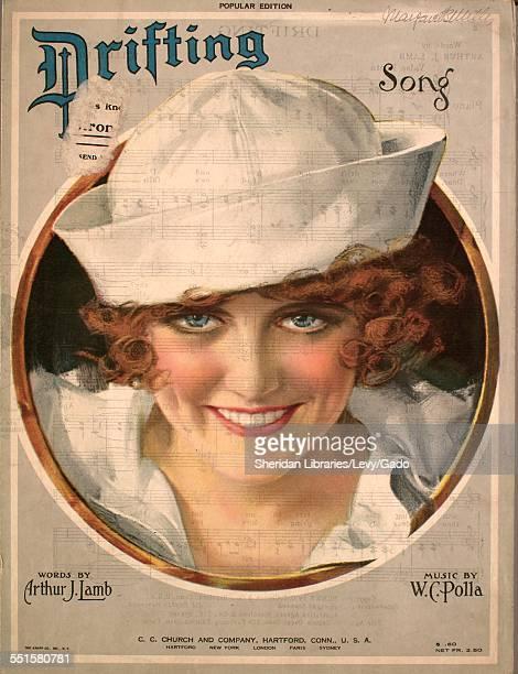 Sheet music cover image of 'Drifting Song' by Arthur J Lamb and W C Polla Hartford 1920