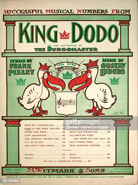Sheet music cover image of 'Look in the Book and See' by Frank Pixley and Gustav Luders with lithographic or engraving notes reading 'Edgar Keller'...
