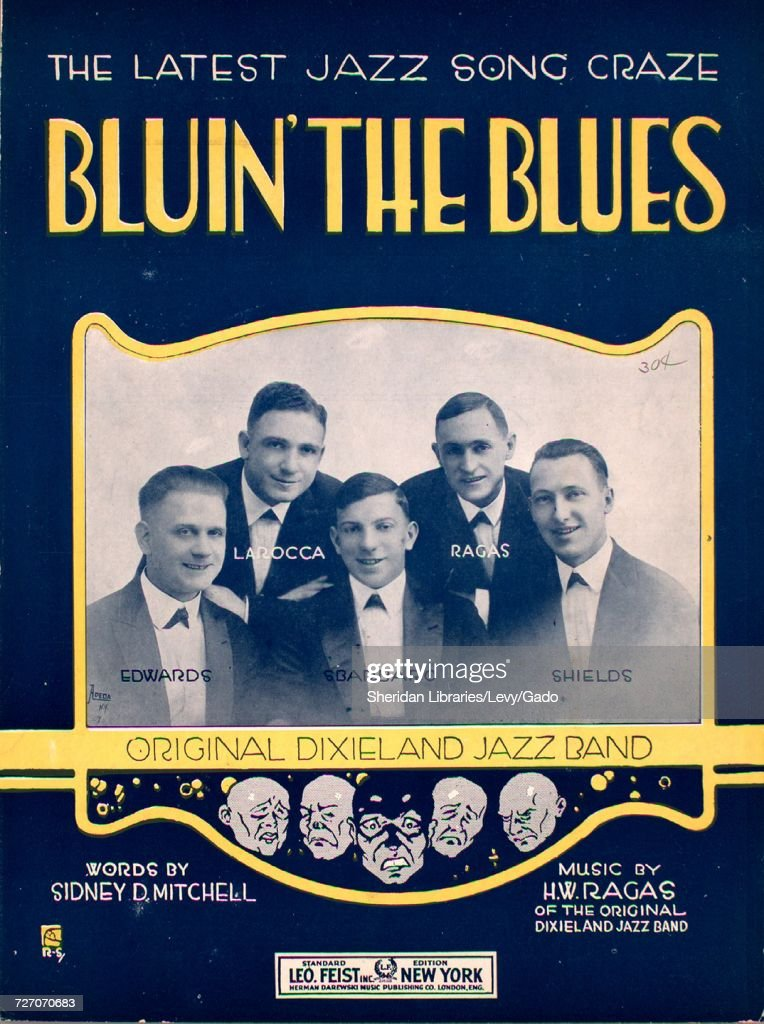 Sheet music cover image of the song 'Bluin' the Blues The Latest