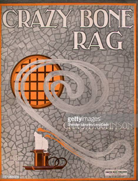 Sheet music cover image of the song 'Crazy Bone Rag' with original authorship notes reading 'by Chas L Johnson' United States 1913 The publisher is...