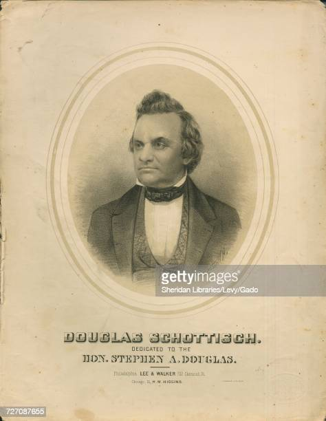 Sheet music cover image of the song 'douglas Schottisch' with original authorship notes reading 'By Charles Grobe Op 1212' United States 1860 The...