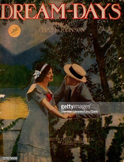 Sheet music cover image of the song 'dreamDays' with original authorship notes reading 'by Chas L Johnson' United States 1913 The publisher is listed...