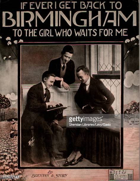 Sheet music cover image of the song 'If Ever I Get Back To Birmingham ' with original authorship notes reading 'by Brennan and Story' United States...