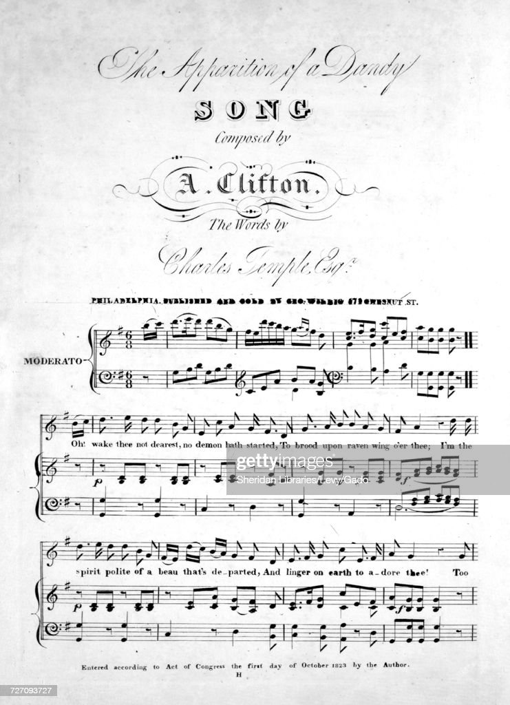 Sheet music cover image of the song 'monkeys Wedding', with