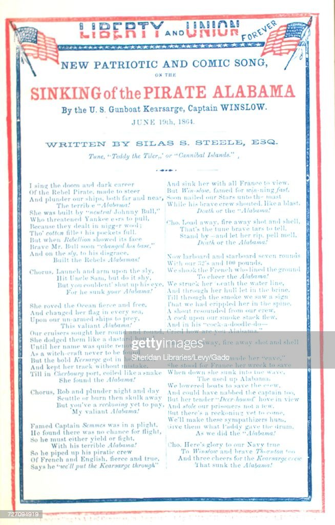 Sheet music cover image of the song 'song Sheet Liberty and