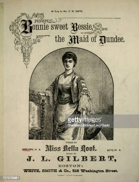 Sheet music cover image of the song 'songs by JL Gilbert No 2 Bonnie Sweet Bessie ' with original authorship notes reading 'JL Gilbert' United States...