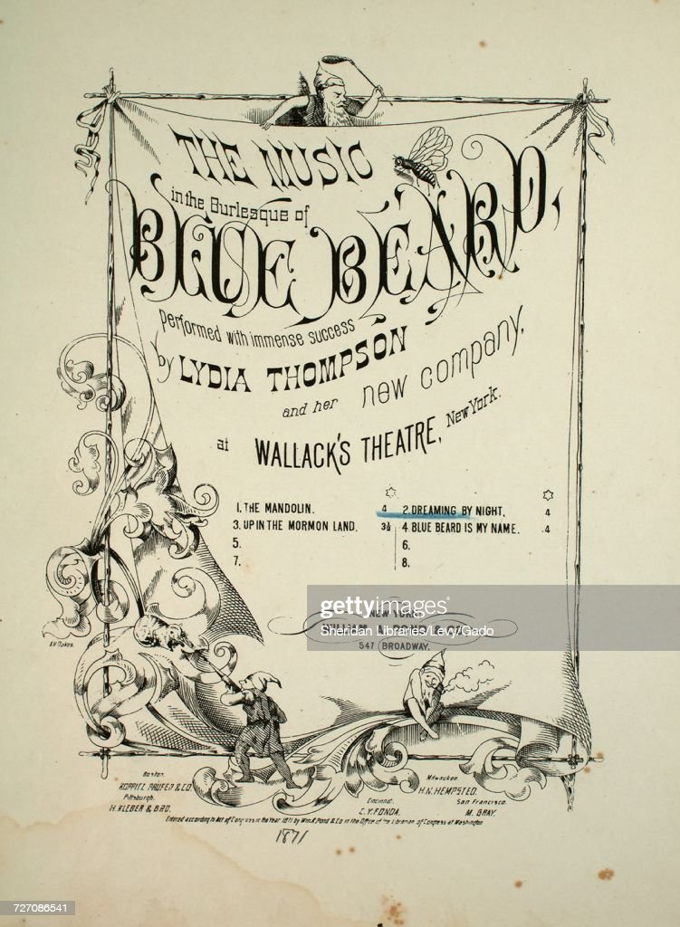 Sheet music cover image of the song 'the Music in the