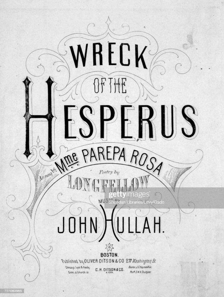 wreck of the hesperus poem