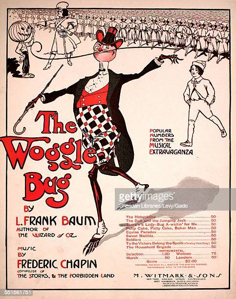Sheet music cover image of 'There's a LadyBug AWaitin' For Me' by L Frank Baum and Frederic Chapin New York New York 1905