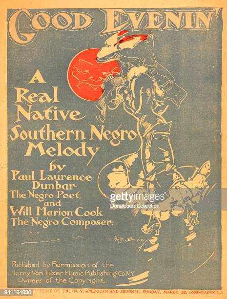 Sheet music for 'Good Evenin' A Real Native Southern Negro Melody by Paul Laurence Dunbar the Negro Poet and Will Marion Cook the Negro Composer...