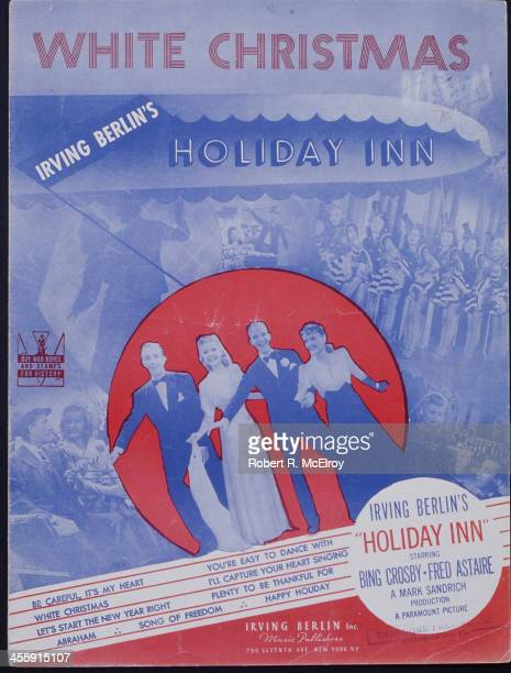 Sheet music for Irving Berlin's 'White Christmas' New York early to mid 1940s