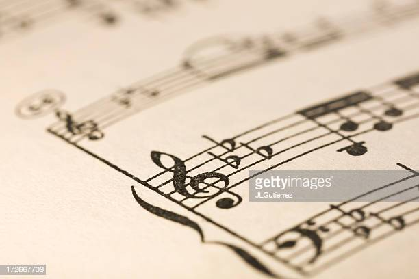 sheet music - sheet music stock photos and pictures