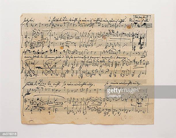 sheet of music - sheet music stock photos and pictures