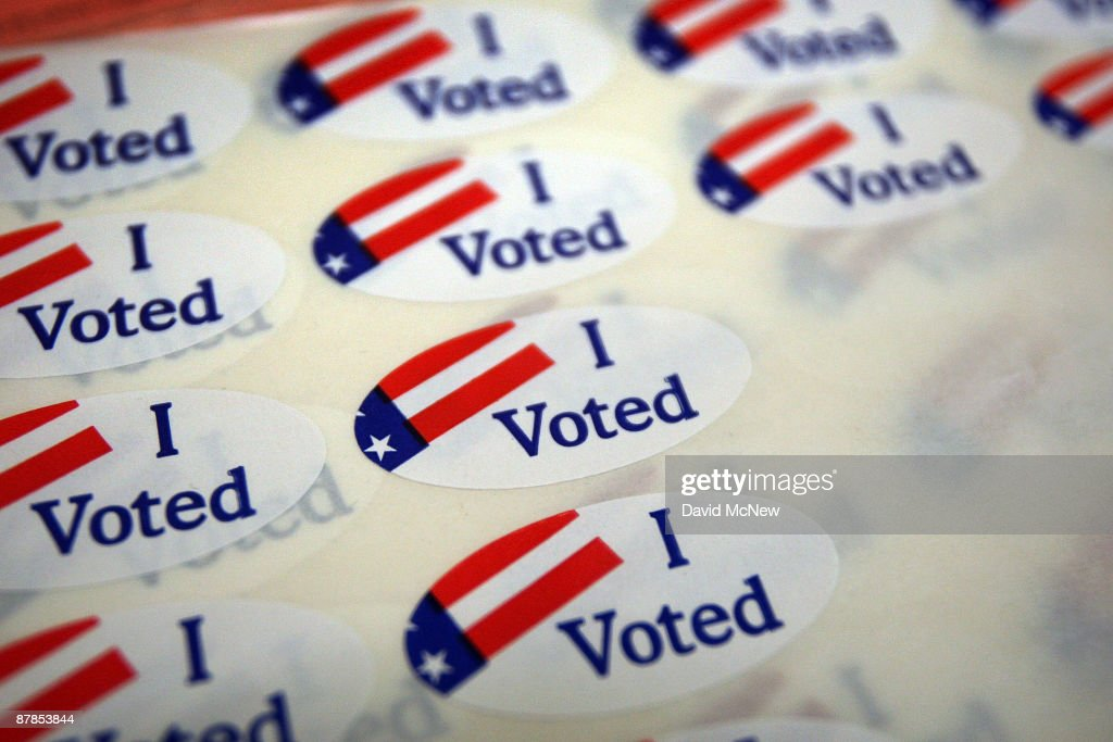 Californians Vote In Special Election On Budget Ballot Measures : News Photo