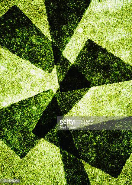 sheets of overlapping organic sushi nori seaweed - seaweed stock pictures, royalty-free photos & images
