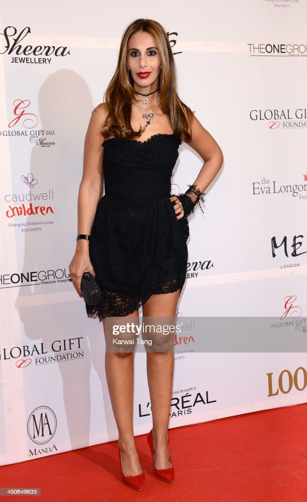 Sheeva Moshiri attends the London Global Gift Gala at ME Hotel on November 19, 2013 in London, England.