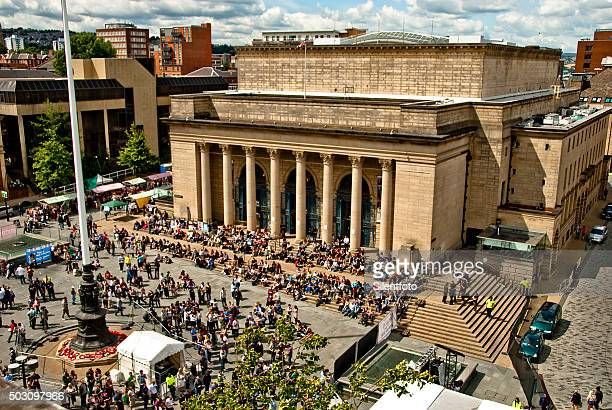 Sheffield City Hall in Summer