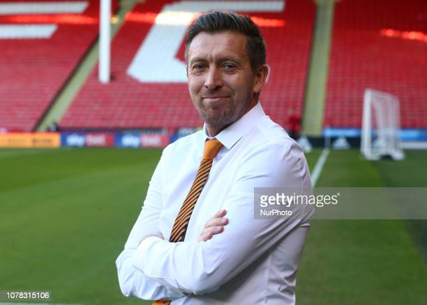 Sheffield England 06 January 2019 Darren Currie Caretaker manager of Barnet during FA Cup 3rd Round between Sheffield United and Barnet at Bramall...