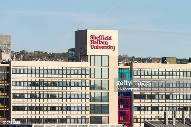 sheffield hallam university, england - sheffield stock pictures, royalty-free photos & images