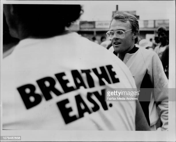 Sheffield Shield Final at the SCG NSW vs Old NSW' won the day Now Dirk Wellham can breathe easy March 18 1986