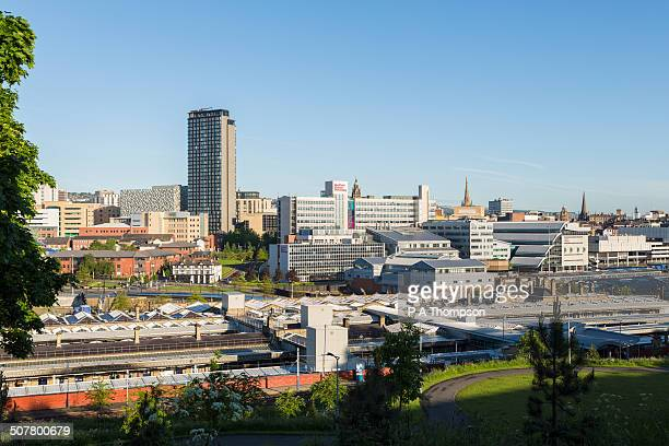 sheffield skyline - sheffield - fotografias e filmes do acervo