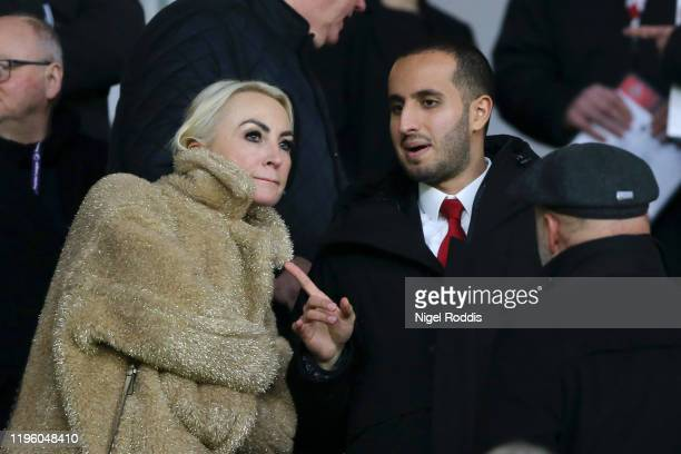 Sheffield United Chairman, Prince Musa'ad bin Khalid Al Saud looks on during the Premier League match between Sheffield United and Watford FC at...